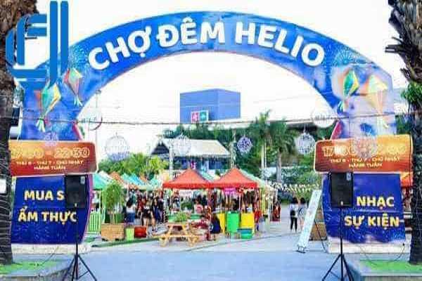 Chợ đêm Helio Đà Nẵng điểm hẹn trong tour du lịch Miền Trung