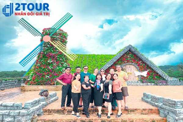 Tour du lịch Sài Gòn Đà Lạt 3 ngày 2 đêm khởi hành hằng ngày